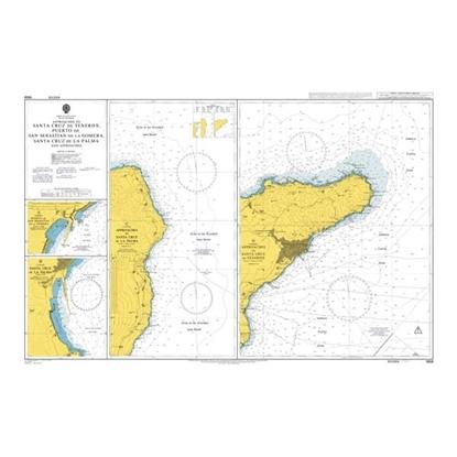Picture of Apps. to S. Cruz de Tenerife, Puerto de S. Sebastian de la Gomera, S. Cruz de la Palma and Apps.