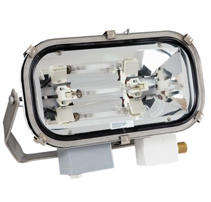 Projector de iluminação (iodetos metálicos ou vapor de sódio)