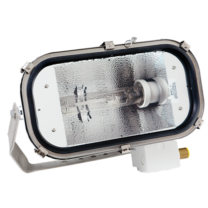 Picture of Floodlight for metal halide lamps, high pressure sodium or halogen