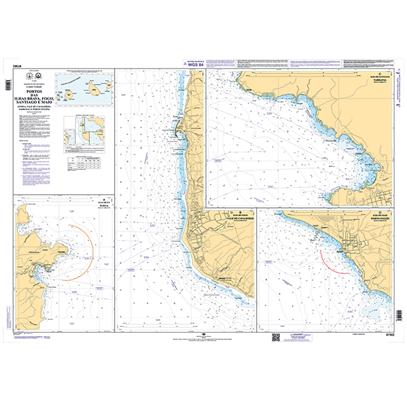 Portos das Ilhas Brava, Fogo, Santiago e Maio (Furna, Vale de Cavaleiros, Tarrafal e Porto Inglês)