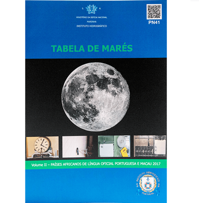 Picture of Tabela de Marés 2017 – Volume II