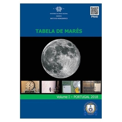 Picture of Tabela de Marés 2018 – Volume I