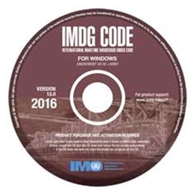 Picture of IMDG Code for Windows (V13), 2016