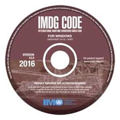 Picture of IMDG Code for Windows (V13), 2016
