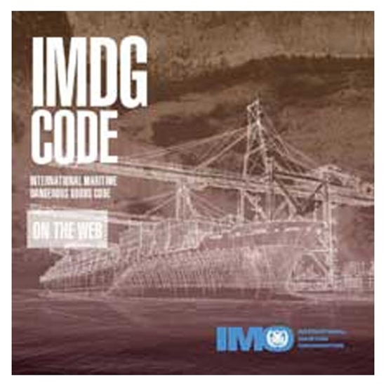 Picture of IMDG Code on Web (3 months)
