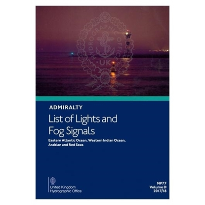 Admiralty List of Lights and Fog Signals  Vol (D)