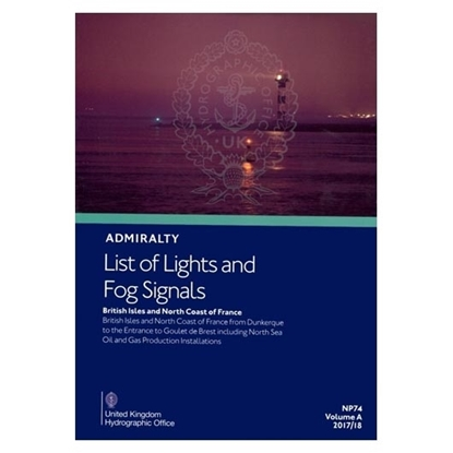 Admiralty List of Lights and Fog Signals Vol(A)