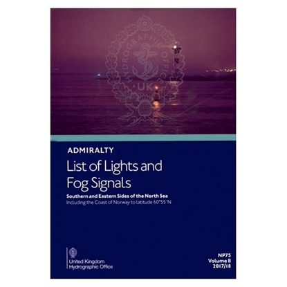 Admiralty List of Lights and Fog Signals Vol(B)
