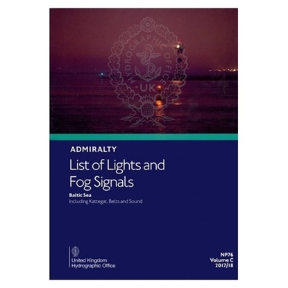 Admiralty List of Lights and Fog Signals Vol(C)