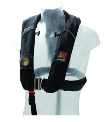 Picture of Argos inflatable hydrostatic lifejacket Hammar w/ harness - 150N