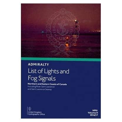 Admiralty List of Lights and Fog Signals Vol(H)