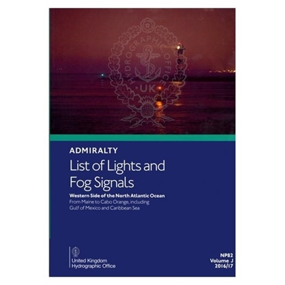 Admiralty List of Lights and Fog Signals Vol(J)
