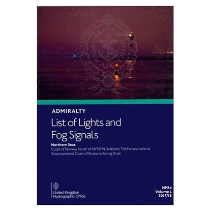 Admiralty List of Lights and Fog Signals Vol(L)