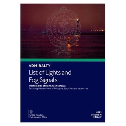 Admiralty List of Lights and Fog Signals Vol.(M)