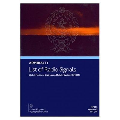 Picture of Admiralty List of Radio Signals GMDSS