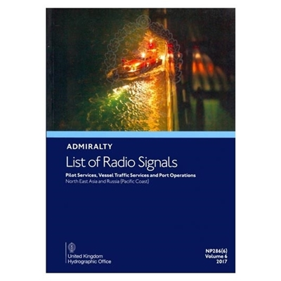 Admiralty List of Radio Signals Vol 6, Part 6