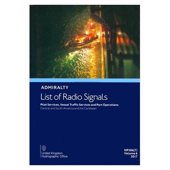 Admiralty List of Radio Signals Vol 6,Part 7