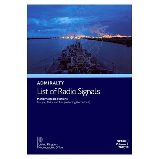Admiralty List of Radio Signals Vol. 1, Part 1