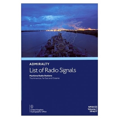 Picture of Admiralty List of Radio Signals Vol. 1, Part 2