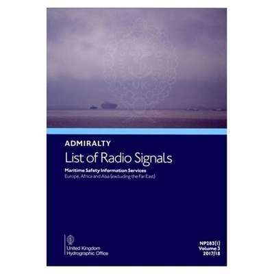 Admiralty List of Radio Signals Vol. 3, Part 1