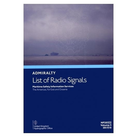 Picture of Admiralty List of Radio Signals Vol. 3, Part 2
