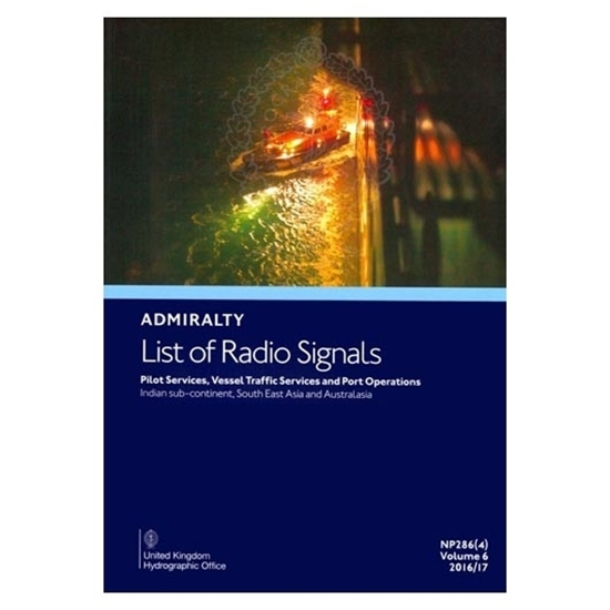Admiralty List of Radio Signals Vol. 6, Part 4