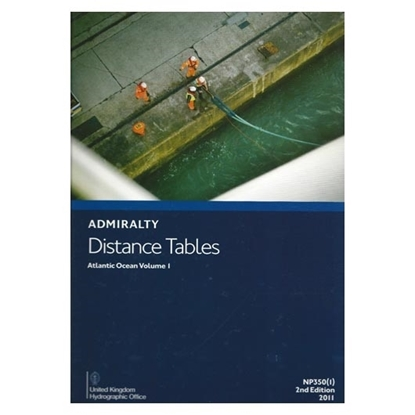 Picture of Admiralty Distance Tables, Atlantic Ocean NP350(1)
