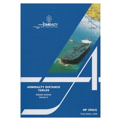 Picture of Admiralty Distance Tables, Indian Ocean NP350(2)
