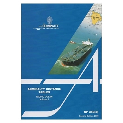 Picture of Admiralty Distance Tables, Pacific Ocean NP350(3)