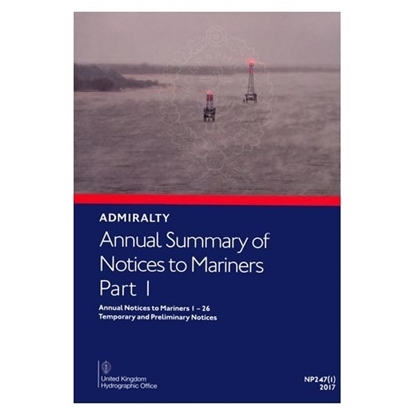 Picture of Annual Summary of Admiralty Notices to Mariners Part 1