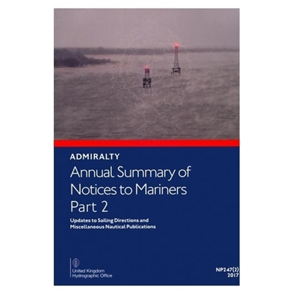 Picture of Annual Summary of Admiralty Notices to Mariners  Part 2