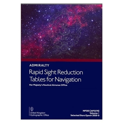 Rapid Sight Reduction Tables for Navigation Vol 1 - AP3270(1)