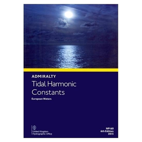 Tidal Harmonic Constants European Waters