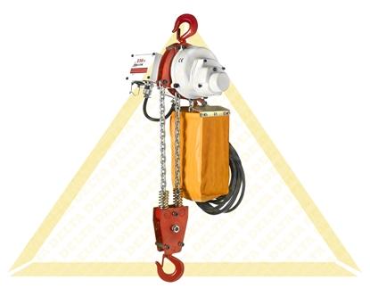 Picture of Diferencial de corrente eléctrico 230 volt com altura 6 medidor de elevação 1T
