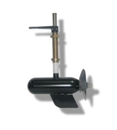 Submersible pod motor (rudder gland)