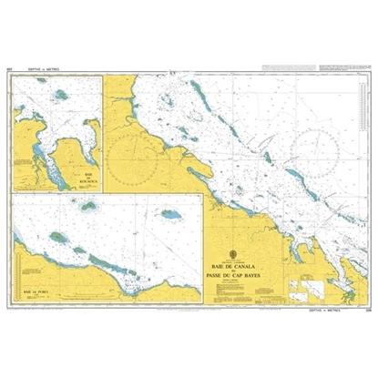 Baie de Canala to Passe du Cap Bayes
