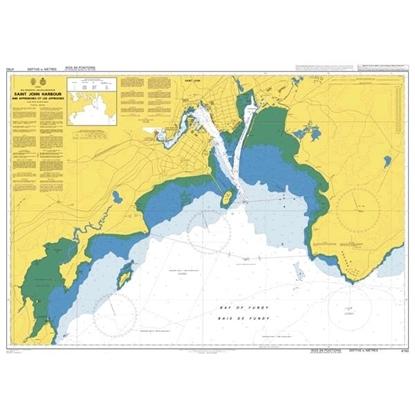 Saint John Harbour and approaches/et les approches