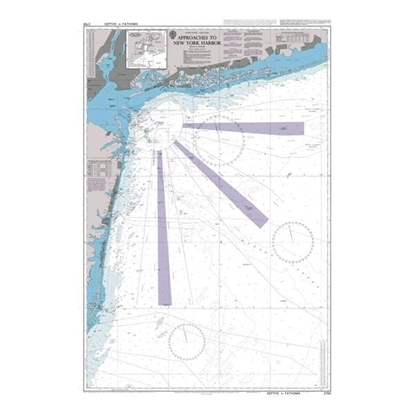 Picture of Approaches to New York Harbour