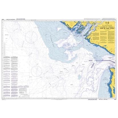 Approaches to/Approches a Juan de Fuca Strait