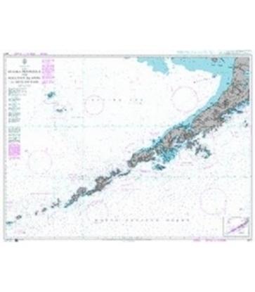Picture of Alaska Peninsula and Aleutian Islands to Seguam Pass