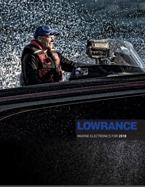 Novos catálogos Lowrance e Simrad 2018