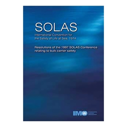 Picture of SOLAS - Bulk Carrier Safety, 1999 Edition