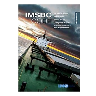 Picture of IMSBC Code and Supplement, 2018 Edition