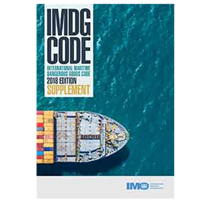 Picture of IMDG Code Supplement, 2018 Edition