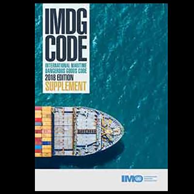IMDG Code Supplement, 2018 Edition