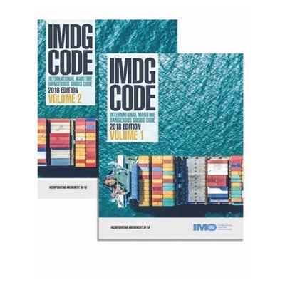 IMDG Code, 2018 Edition (inc. Amdt 39-18) 2 volumes