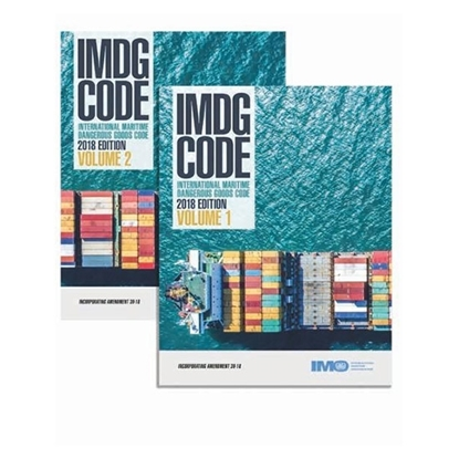 Picture of IMDG Code, 2018 Edition (inc. Amdt 39-18) 2 volumes