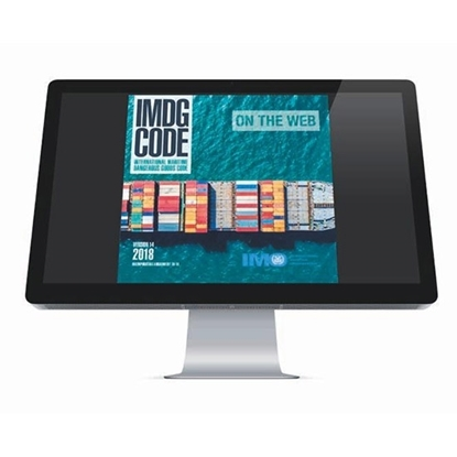 Picture of IMDG Code on the Web