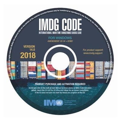 Picture of IMDG Code for Windows, Version 14 (2018)