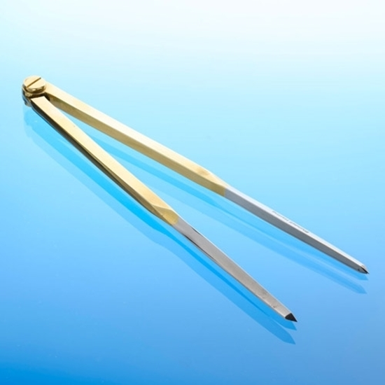 """Picture of Portland Solid Brass Straight Divider 8"""""""